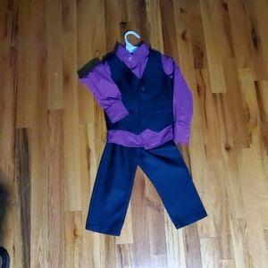 Toddler boy 3 piece dress set